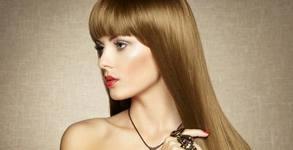 Боядисване на коса с milk_shake, подстригване и оформяне със сешоар