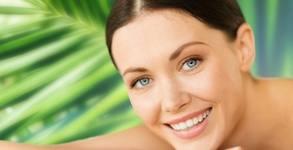 Дълбоко хидратираща лифтинг терапия на лице с перли и ревитализиращ серум, плюс маска и крем на околоочен контур