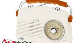 Портативно радио с ретро дизайн AEG NR 4155