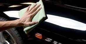 Цялостно полиране на автомобил, плюс нанасяне на щит вакса Rаin Off на стъкла и огледала