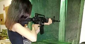 Вход за стрелбище, с ползване на оръжия, мишени и мултимедиен екран, плюс бонус - 10 изстрела с пистолет