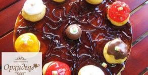 Еклерова торта с шоколад - 10 парчета наслада