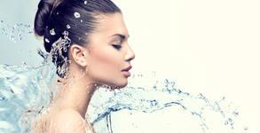 Почистване на лице, плюс терапия по избор - колагенова, хиалуронова или витаминозна