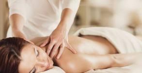 Пресотерапия на цяло тяло или масаж на гръб с масла по избор