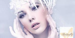 Хидрадермабразио за лице, плюс кислороден душ и криотерапия