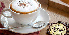Капучино, Лате или Виенско кафе, плюс Лава кейк с белгийски шоколад