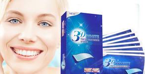 Ленти за избелване на зъби 3D White - 30 броя
