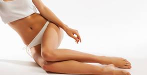 Антицелулитен масаж на проблемни зони, плюс прилагане на ръчни вендузи
