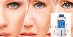 Водно дермабразио на лице, плюс ексфолиране, дълбоко вакуумно почистване и хидратация