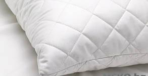 Капитонирана възглавница със силиконизиран пух