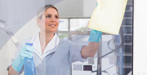 Двустранно измиване на прозорци и дограми в апартамент или офис до 100кв.м