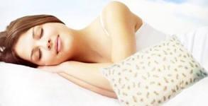 Възглавница от гъши пух и перца