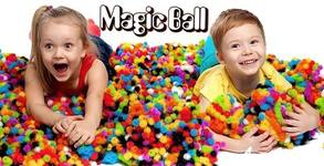 "Конструктор ""Magic Ball"" с топчета-бодлички - хит по света"
