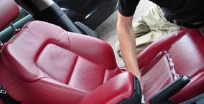 Цялостно пране на салон на лек автомобил, плюс вътрешно почистване