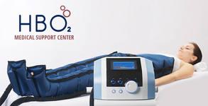 Пресотерапия с лимфен дренаж на проблемни зони по избор