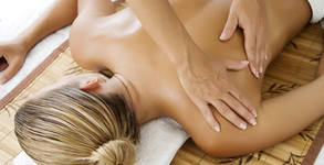 Традиционен марокански масаж на цяло тяло с арганово масло, плюс масаж на скалп