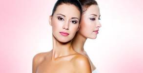 Терапия за лице с българско кисело мляко, без или със почистване и масаж, от Козметик Пламена Янева