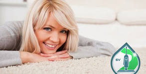 Безпрашно тупане и изпиране с Rainbow - на мека мебел, килим или единичен матрак
