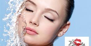 За лице! Третиране с електрически импулси или почистване с водно дермабразио, плюс ултразвук, RF лифтинг и криотерапия