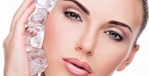 Безиглена мезотерапия на лице с колаген и хиалурон, плюс криотерапия