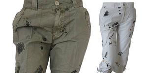 Моден дамски 7/8 панталон в модел, размер и цвят по избор