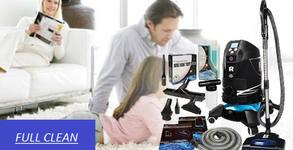 Пране и изтупване с почистваща система Robot Platinum на до 6 седящи места холова гарнитура