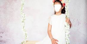 Пролетна семейна фотосесия в студио с до 40 обработени кадъра