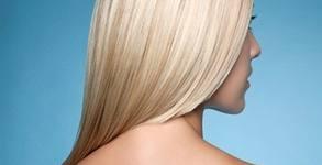 Красива коса! Масажно измиване с L'Oréal Professionnel и прическа със сешоар - без или със подстригване