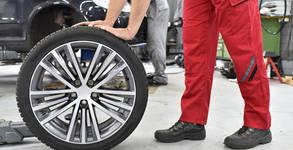 За автомобила! Смяна на 2 или 4 гуми от 13 до 18 цола