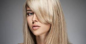 Измиване и оформяне със сешоар - без или със терапия Bond за здрава коса