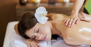 """Ароматерапевтичен масаж """"Майска наслада"""" на цяло тяло"""