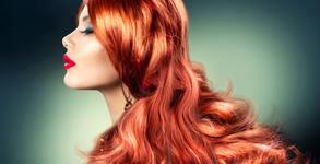 Подстригване на коса, плюс омбре или балеаж