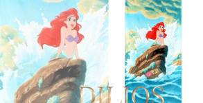 Детска плажна кърпа с красив дизайн по избор