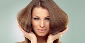 Красива коса! Подстригване - без или със терапия против косопад