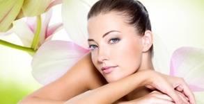 Почистване на лице - мануално или с ултразвукова шпатула, плюс хидратираща терапия с колаген