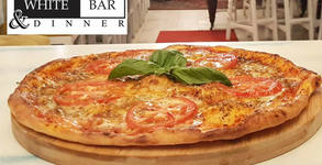 Пица Неаполитана от пълнозърнесто тесто с квас