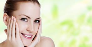 Терапия за лице със серум биоефект, плюс бонус - почистване и оформяне на вежди