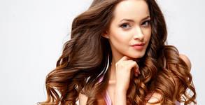 Масажно измиване, арганова терапия за коса и оформяне със сешоар - без или със подстригване