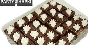 Подслади празниците! 2, 4 или 6кг петифури с крем брюле, шоколадова глазура и сметана