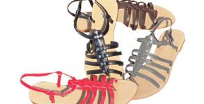 Дамски сандали от еко кожа - модел по избор