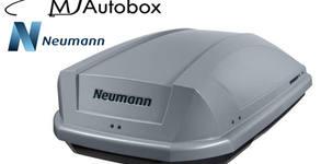 Автобокс Neumann Adventure 130 с обем 300 литра, в цвят черен или сив гланц