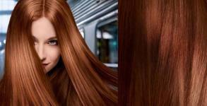 Измиване и полиране на коса с полировчик, плюс оформяне със сешоар или преса