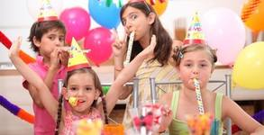 2 часа рожден ден за до 10 деца на 1 - 5г с аниматор, игри, украса - със или без меню и торта