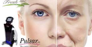 Фотоподмладяване на лице и околоочен контур или лечение на акне с IPL терапия с уред Pulsar