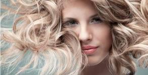 Боядисване на коса с боя на клиента, плюс подстригване и оформяне