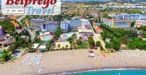 През Май в Алания, Турция! 7 нощувки на база All Inclusive в Meridia Beach Hotel 5*