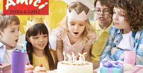За празника на малчугана! Парти за рожден ден за до 5 деца - с игри, аниматор и меню