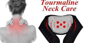 Турмалинова яка по японска технология при схващане и напрежение в областта на шията и раменете