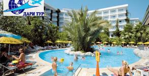 Морска почивка в Мармарис в края на Септември! 7 нощувки на база All Inclusive в Tropical Beach Hotel 4*, плюс транспорт