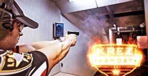 Стрелба с пистолет по избор - Sig Sauer, Beretta, CZ, S&W или Glock